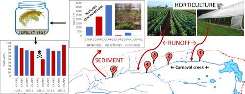 Pesticide impact study in the peri-urban horticultural area