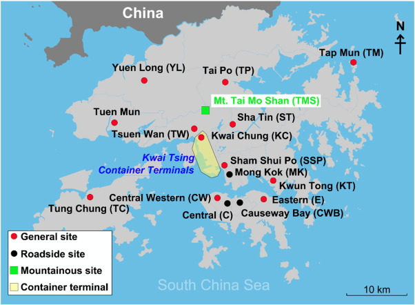 Observation of SOA tracers at a mountainous site in Hong