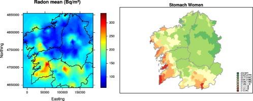 foto de Residential radon and cancer mortality in Galicia, Spain ...