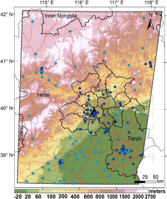 MAIAC-based long-term spatiotemporal trends of PM2 5 in