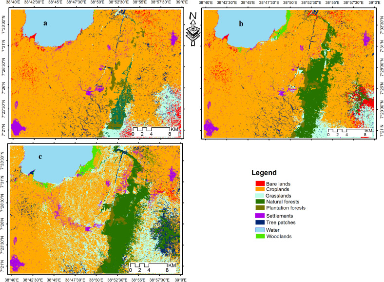 Scenario modelling of land use/land cover changes in Munessa