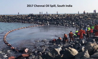 Environmental impacts of the Chennai oil spill accident – A case