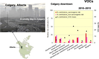 Ambient volatile organic compounds (VOCs) in Calgary