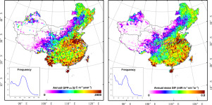Spatial-temporal consistency between gross primary productivity and