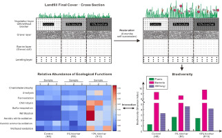 effects of biochar on the ecological performance of a subtropical