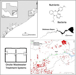Spatial and temporal influence of onsite wastewater