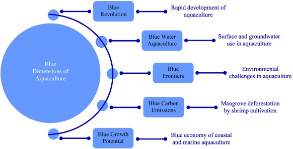 The blue dimensions of aquaculture: A global synthesis