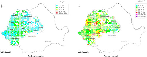 The First Large Scale Mapping Of Radon Concentration In Soil Gas