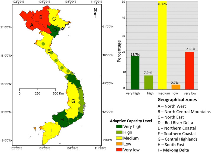 Vulnerability of Vietnam to typhoons: A spatial assessment