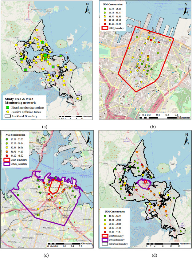A Site Optimised Multi Scale GIS Based Land Use Regression