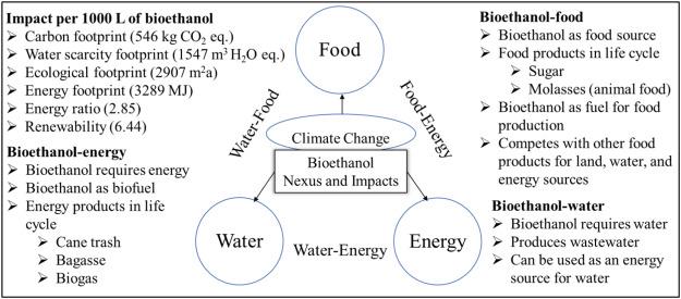 Water-energy-food nexus of bioethanol in Pakistan: A life cycle
