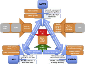 Energy and Biodiversity in a Changing World Water Food The Climate Nexus