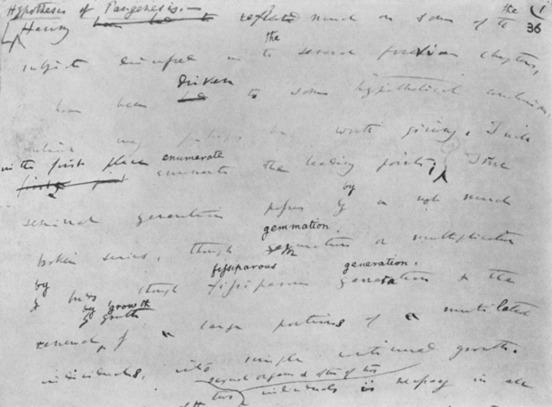 Darwin's Pangenesis: A Theory of Everything? - ScienceDirect