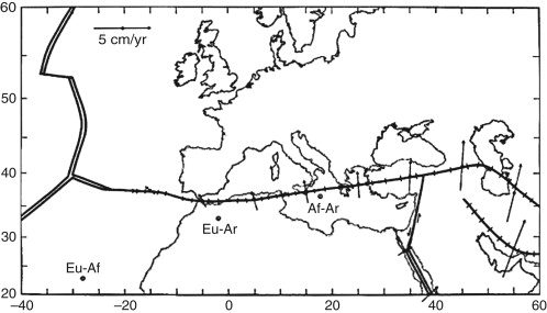 Azorestunisia A Tectonically Complex Plate Boundary