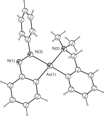 The Chemistry Of Cyclometallated Goldiii Complexes With Cn Donor