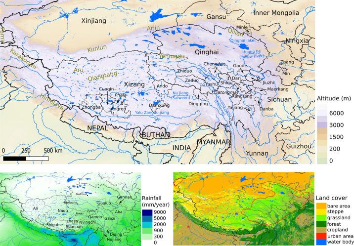 Echinococcosis transmission on the Tibetan Plateau