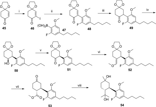 Image result for cannabidiol synthesis