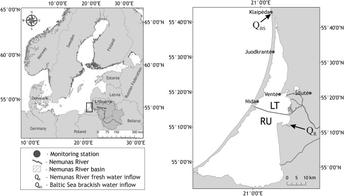 Impact of climate change on the Curonian Lagoon water