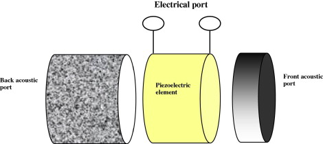 Piezoelectric single crystal ultrasonic transducers for