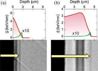Ion beam modification of dielectric materials in the