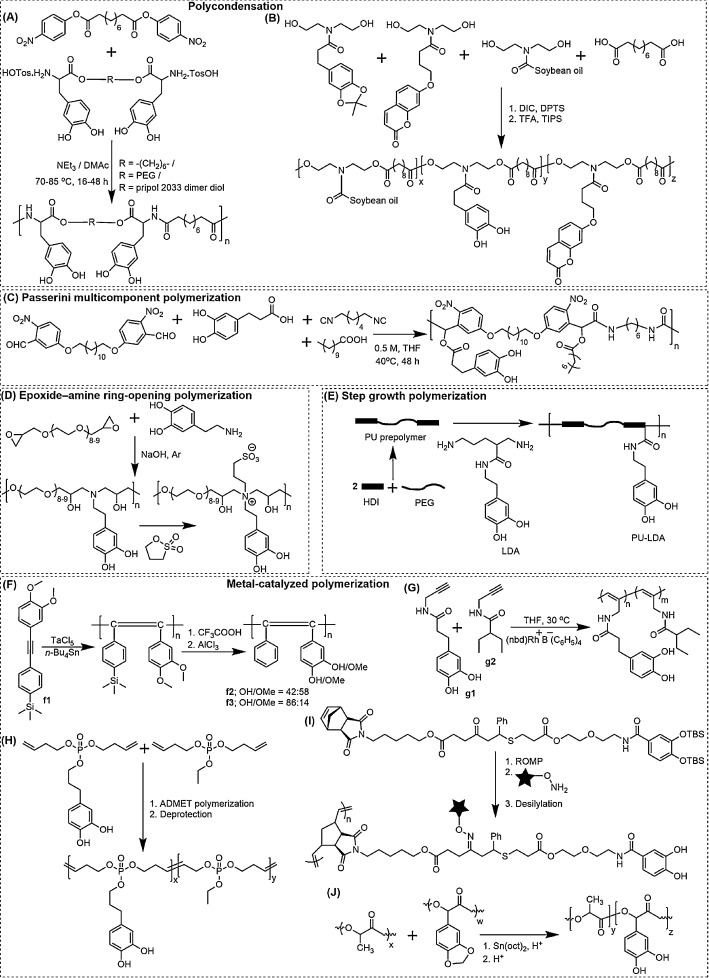 Recent advances in the synthesis of catechol-derived (bio