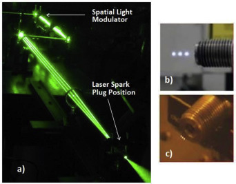 Laser ignition - Spark plug development and application in