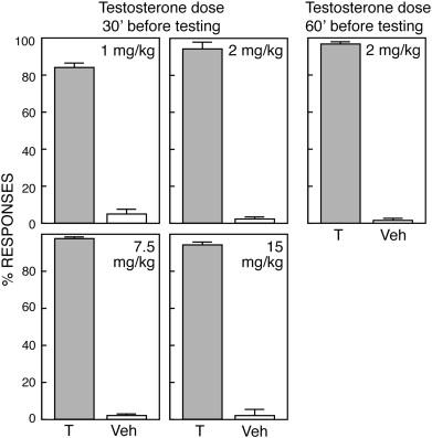 Testosterone as a discriminative stimulus in male rats