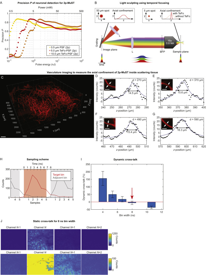 Volumetric Ca2+ Imaging in the Mouse Brain Using Hybrid