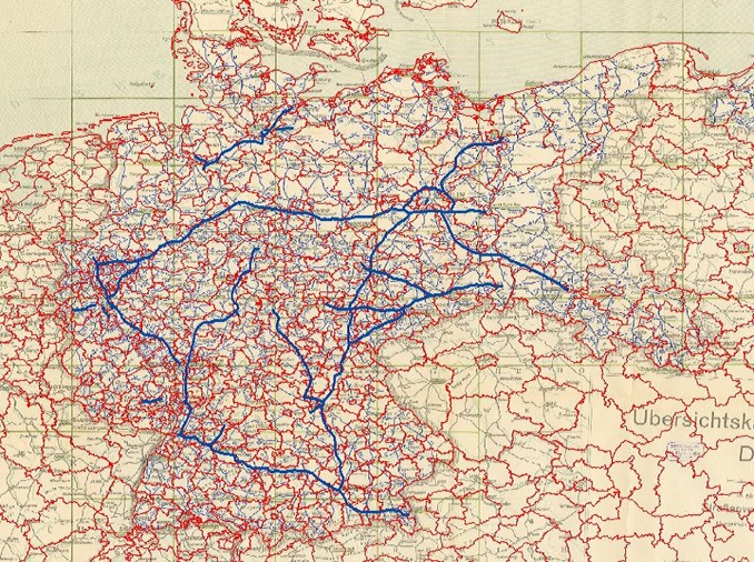 Where Is The Autobahn In Germany Map.Autobahns And Jobs A Regional Study Using Historical Instrumental