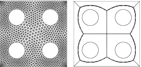 A Matlab mesh generator for the two-dimensional finite element