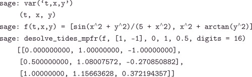 Automatic implementation of the numerical Taylor series method: A