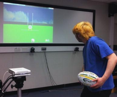 Sensory Kit 3 Ridged Light Up Rugby Balls for Tactile Sensory Play