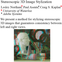 Stereoscopic 3D image stylization - ScienceDirect