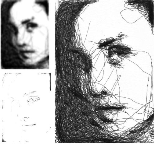Portrait drawing by Paul the robot - ScienceDirect