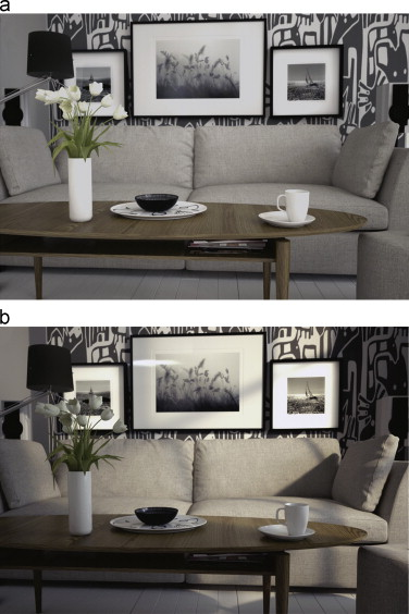 Spatially varying image based lighting using HDR-video