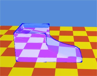 Ray Tracer based rendering solution for large scale fluid