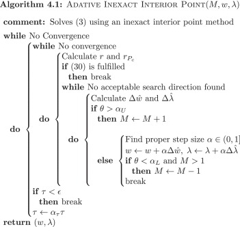 In This Framework, The Scalars αU And αL Serve As Tuning Parameters To  Adjust The Adaptive Bandwidth M. The Method Is Summarized In Algorithm 4.1.