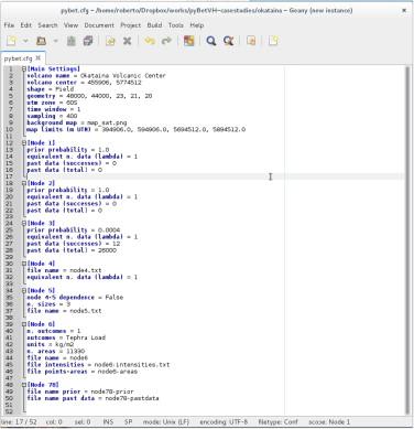 PyBetVH: A Python tool for probabilistic volcanic hazard