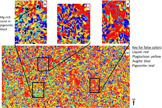 Phase Composition Maps integrate mineral compositions with