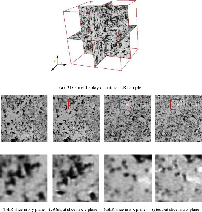 CT-image of rock samples super resolution using 3D