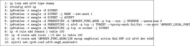 SRv6Pipes: Enabling in-network bytestream functions