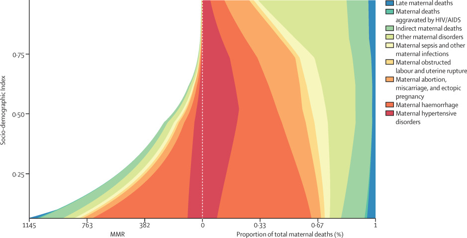Global, regional, and national levels of maternal mortality