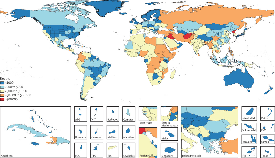 Global, regional, and national age-sex-specific mortality
