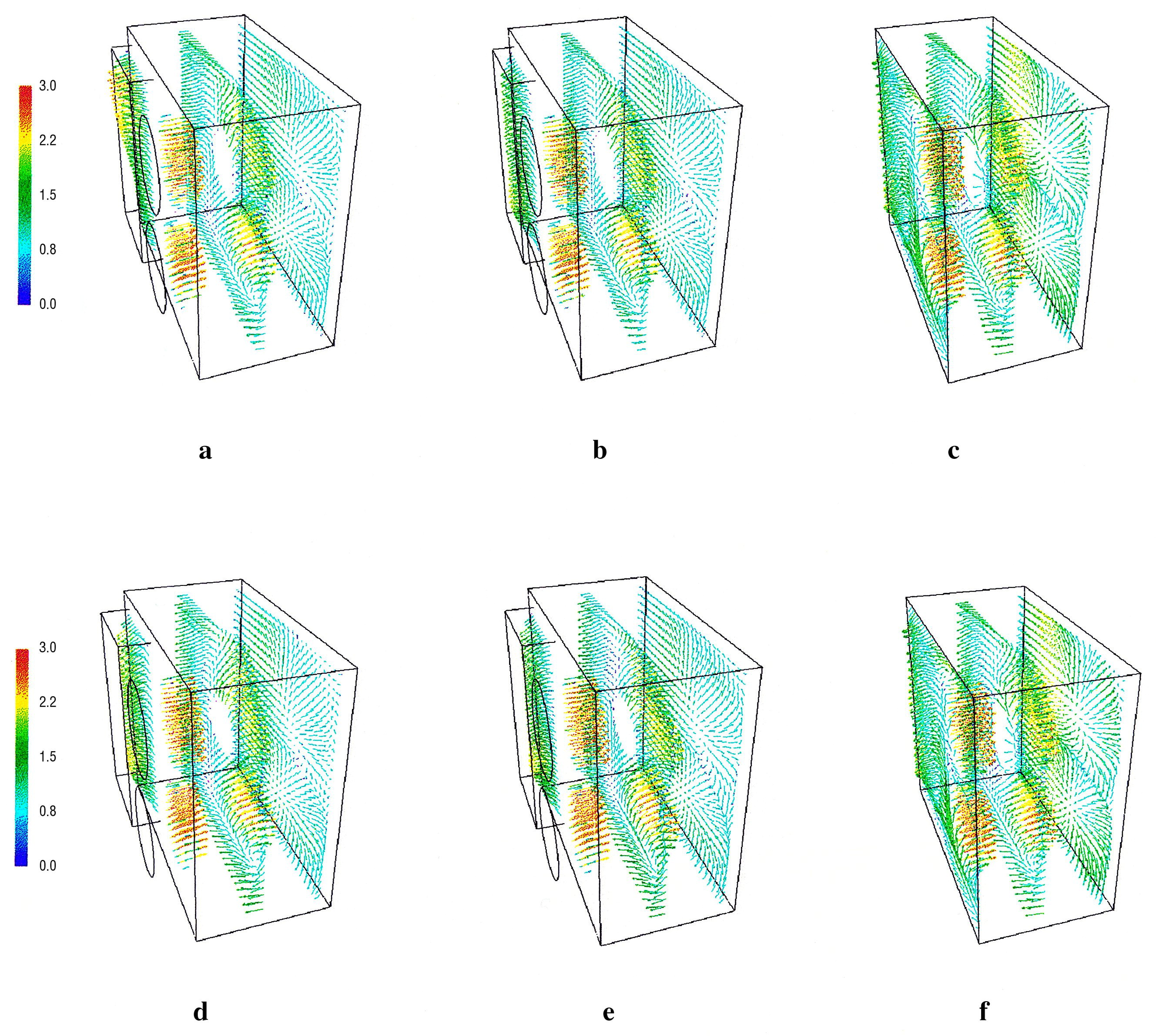 Predicting Local Surface Heat Transfer Coefficients By Different