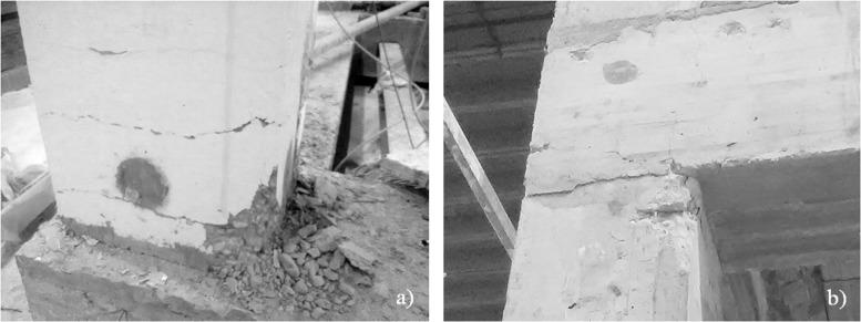 A non-destructive testing methodology for damage assessment of