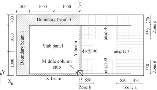 Numerical study of progressive collapse resistance of RC beam-slab