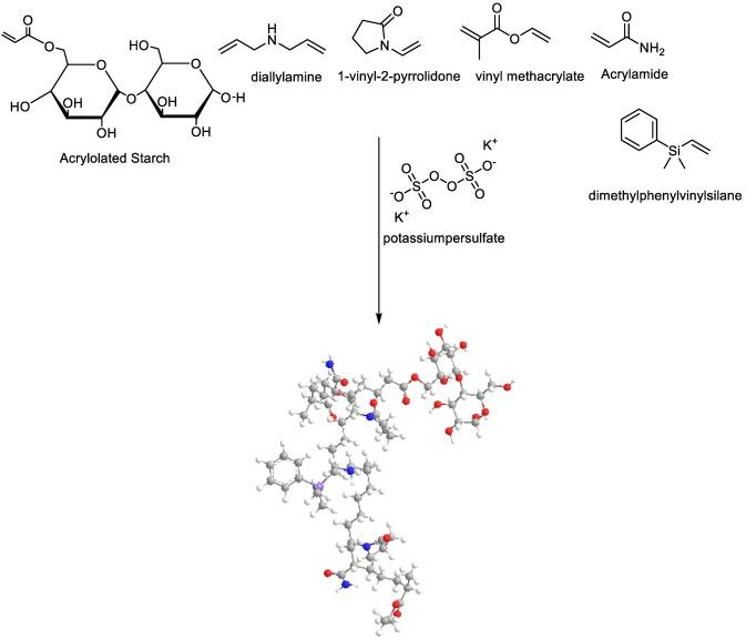 Synthesis And Evaluation Of Acryloylated Starch G Poly Acrylamide Vinylmethacrylate 1 Vinyl 2 Pyrrolidone Crosslinked Terpolymer Functionalized By Dimethylphenylvinylsilane Derivative As A Novel Polymer Flooding Agent Sciencedirect