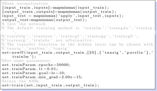 An artificial neural network model of LRU-cache misses on