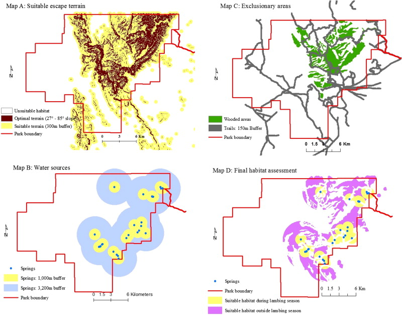 Assessing the feasibility for reintroducing desert bighorn sheep to