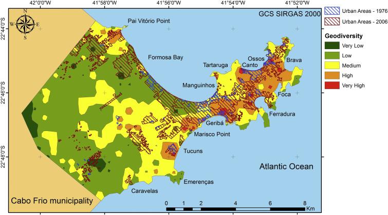Quantitative Assessment Of Geodiversity And Urban Growth